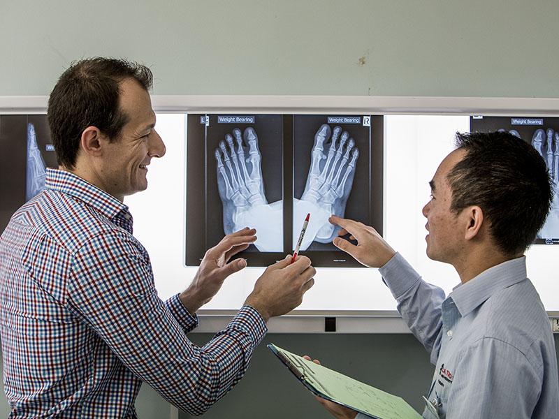 Podiatry x-ray